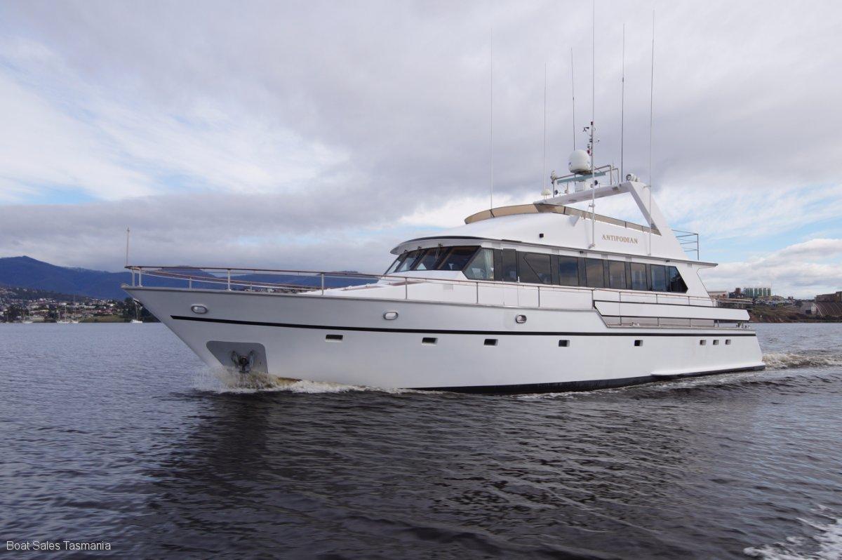 World-class 70 Motoryacht Antipodean