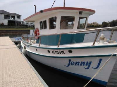Timber Fishing Boat 30ft