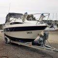Bayliner 2455 Ciera on registered tandem trailer