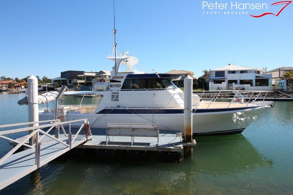 Custom Aluminium Commercial Vessel, ex Police Boat