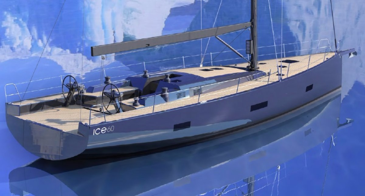 Ice Yachts 60, a state of the art Hi-tech Cruiser-Racer