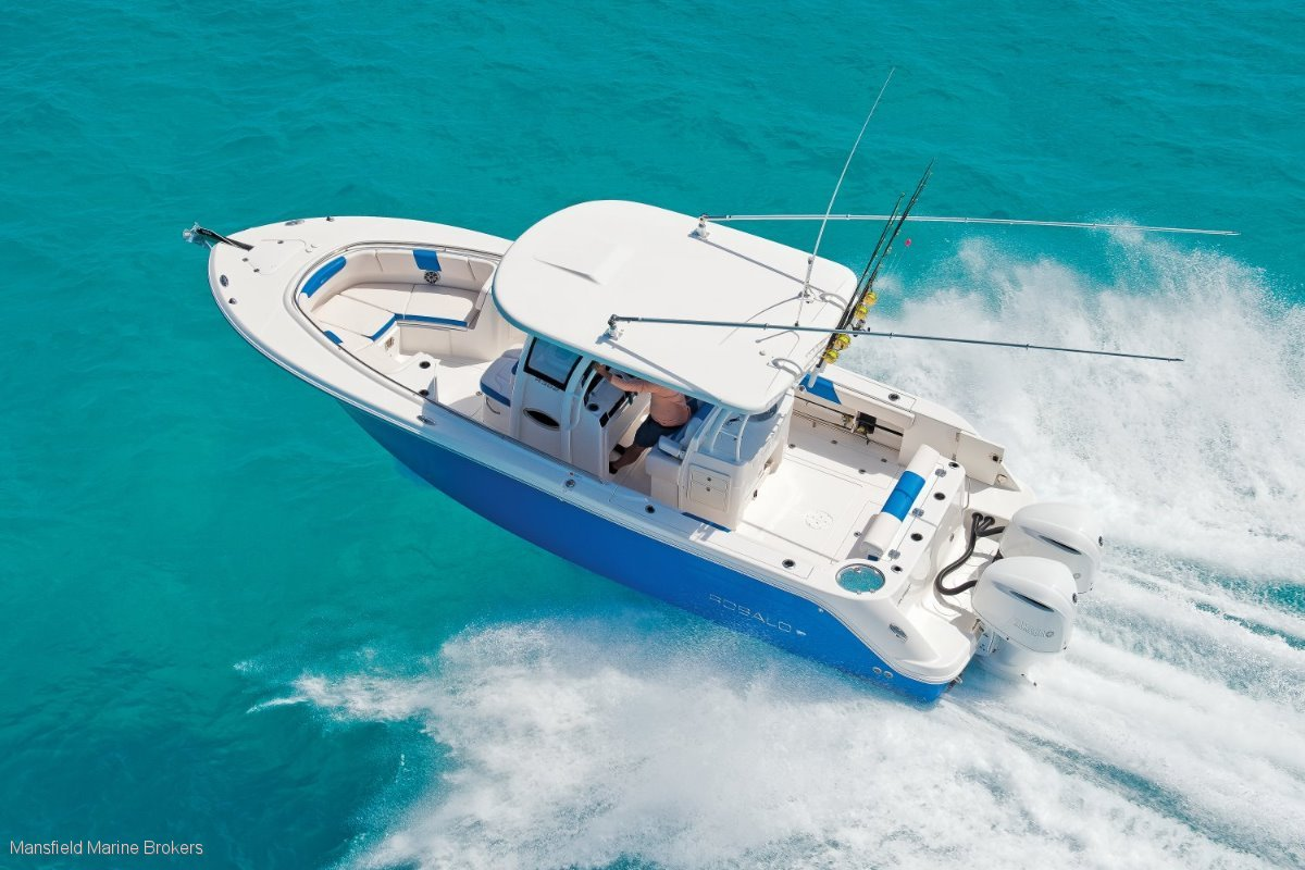 Robalo 302:Choice of colours