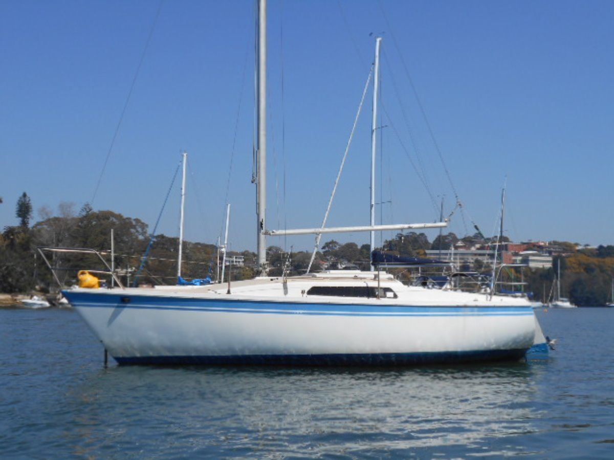 Cole 23 Great yachts production fixed keel version