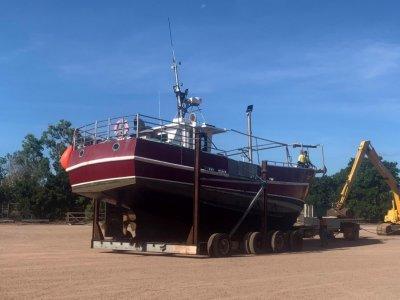 Custom Fishing Boat