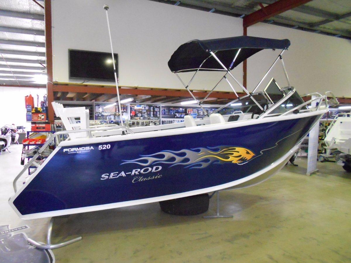 Formosa Sea Rod 520 Classic Runabout