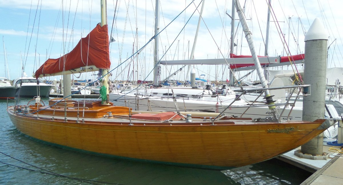 William Fife 1928 Classic Sloop