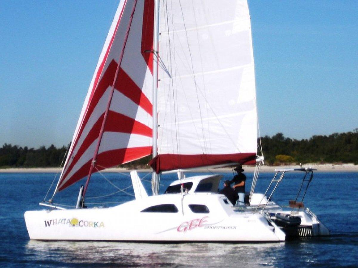 Great Barrier Express Sportsdeck Catamaran