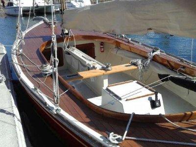 Couta Boat 23 Fibreglass hull and teak deck