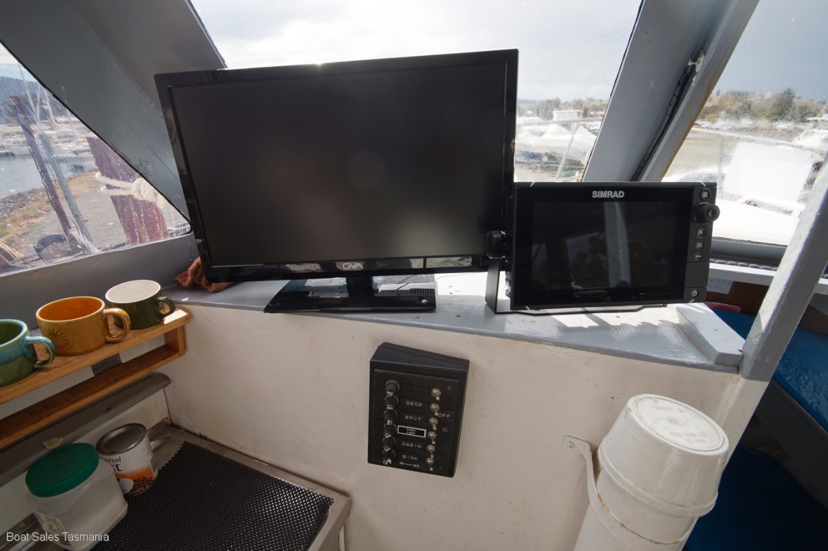 35' Steel Ex-Charter Cruiser 'Crescent'