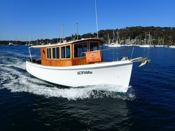 28ft Huon Pine Timber Cruiser