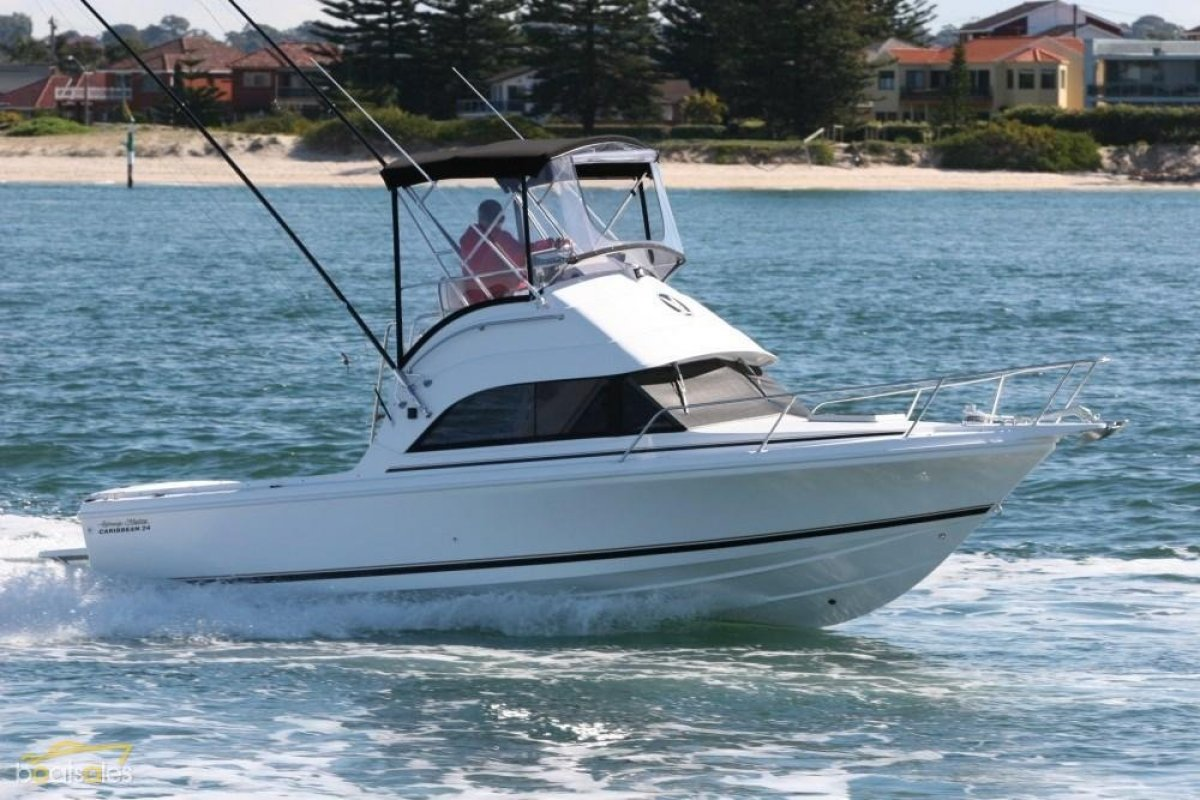 New Caribbean 24 Flybridge Sports Fisherman