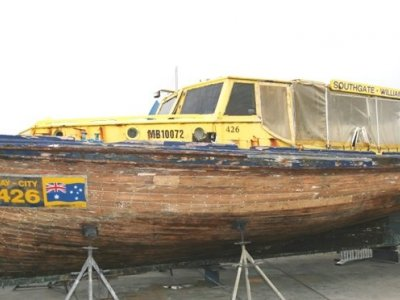 Classic Ford 40 timber commercial workboat
