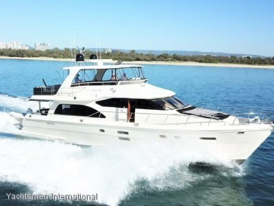 Hampton 680 Pilothouse Motor Yacht