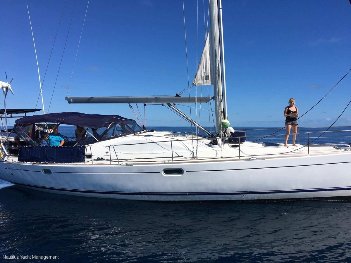 Jeanneau Sun Odyssey 49DS One owner. Equipped for world cruising. Surveyed.