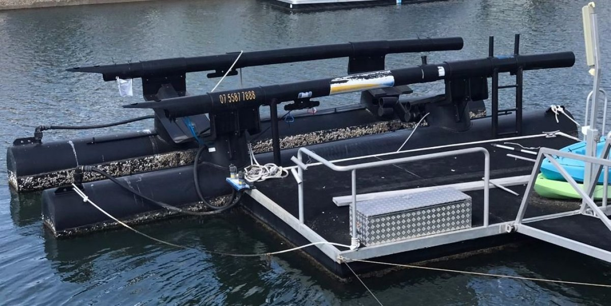 Airberth M430 Boat Lift for Sale:Actual Boat Lift