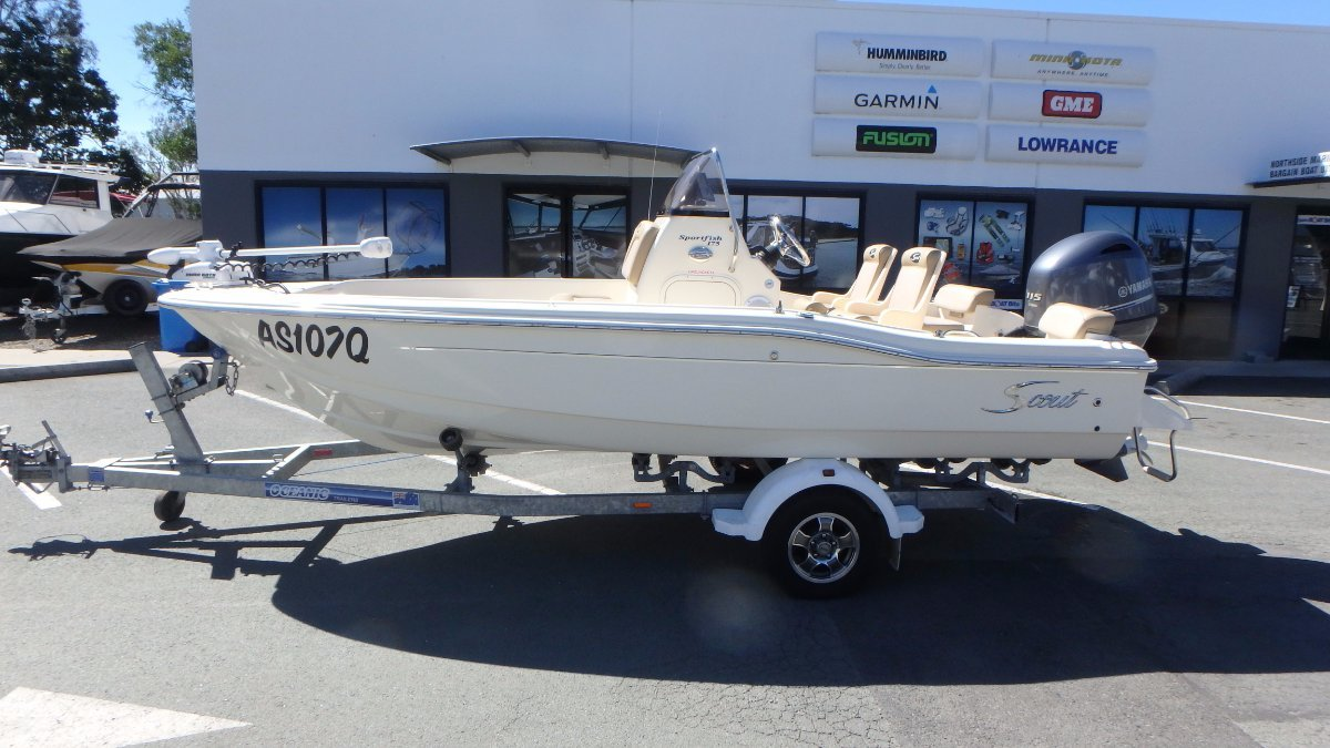 Scout 175 Sportfish + Yamaha F115LB 115hp 4-Stroke
