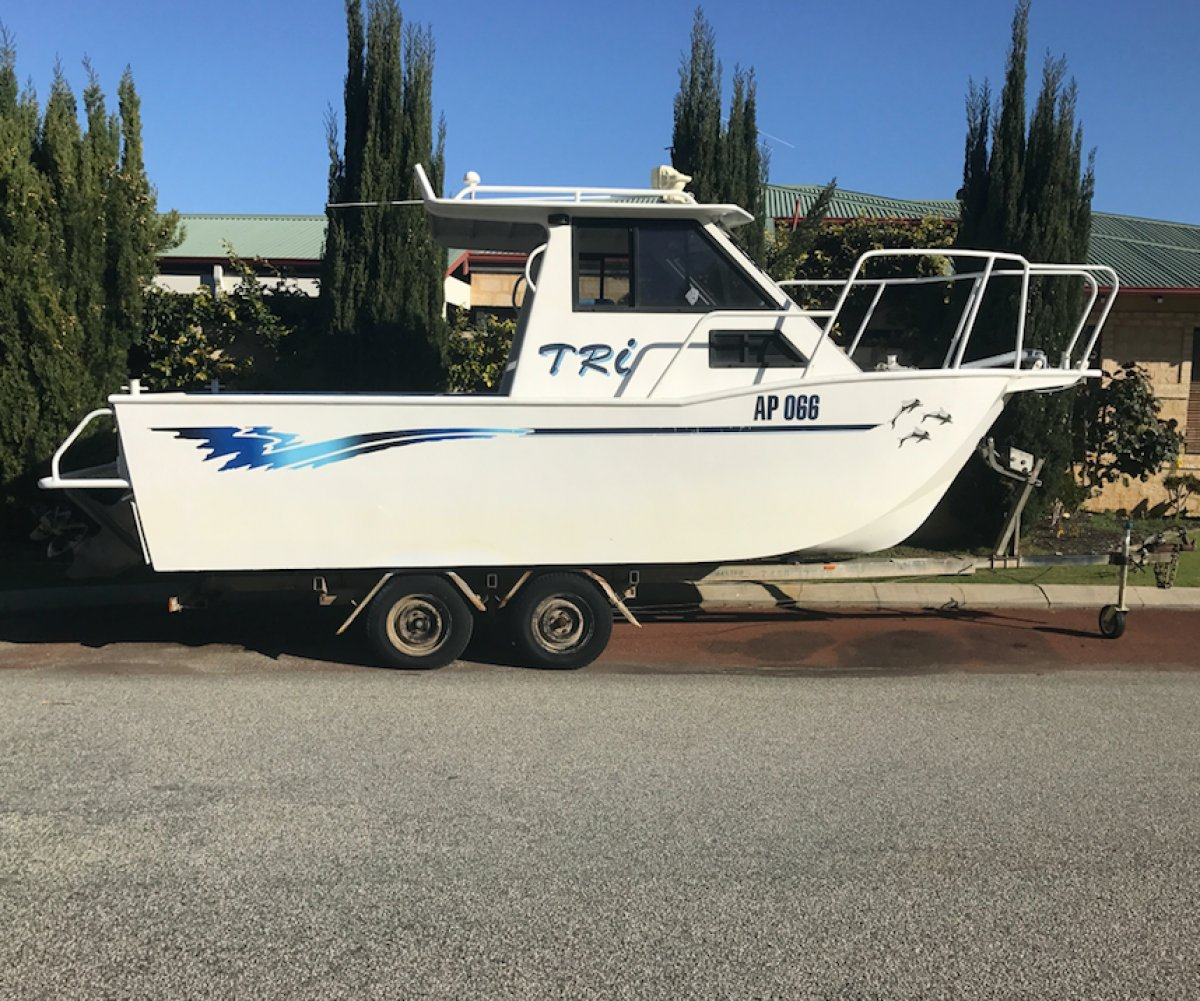 Aluminium Tri Hull: Power Boats | Boats Online for Sale
