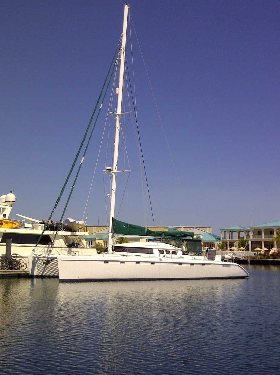 Fountaine Pajot Marquises Custom 60 Capable of 19 kts under power and 20+ under sail