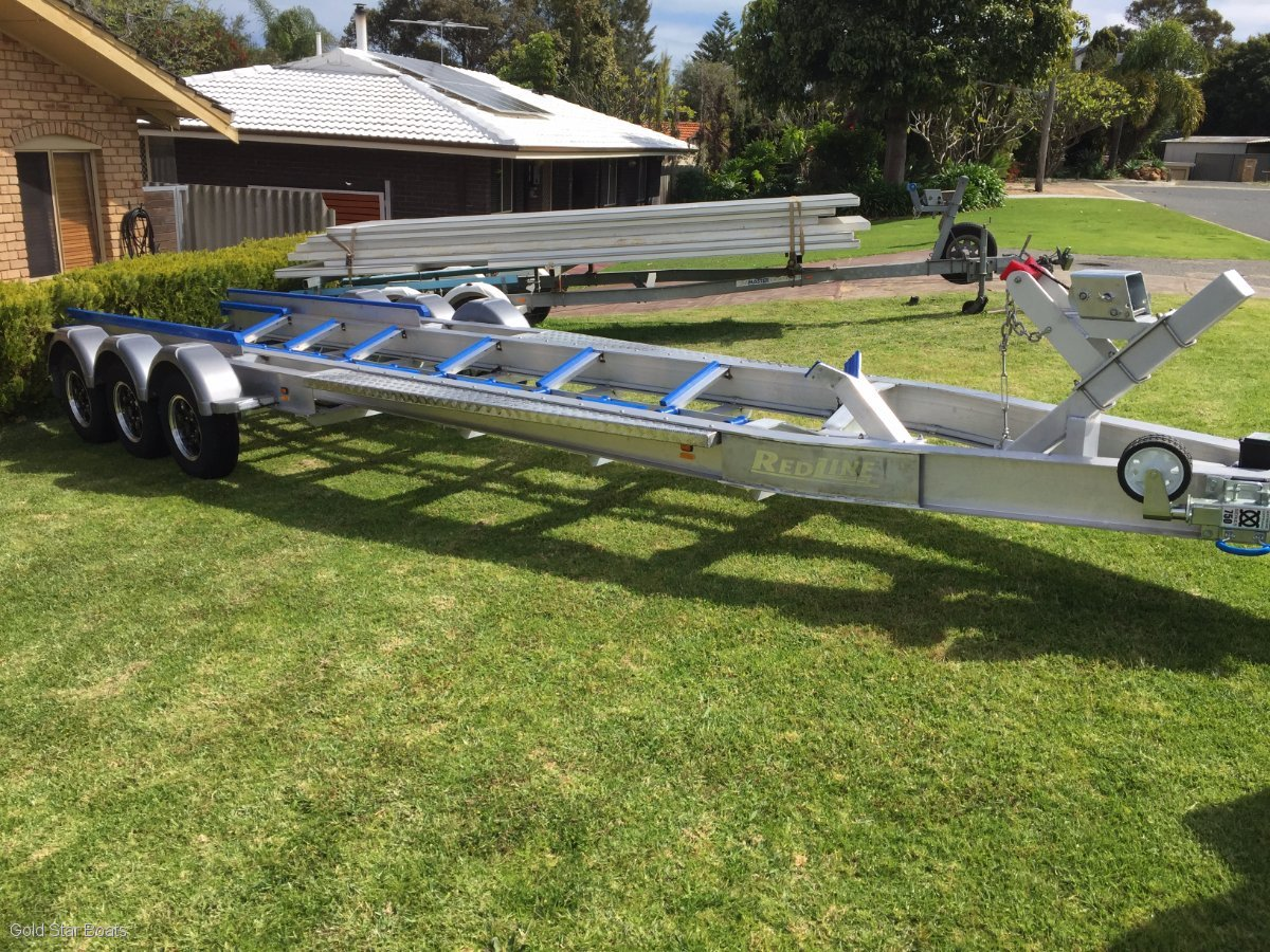 Goldstar Ali Tri Axle Boat Trailer 8600