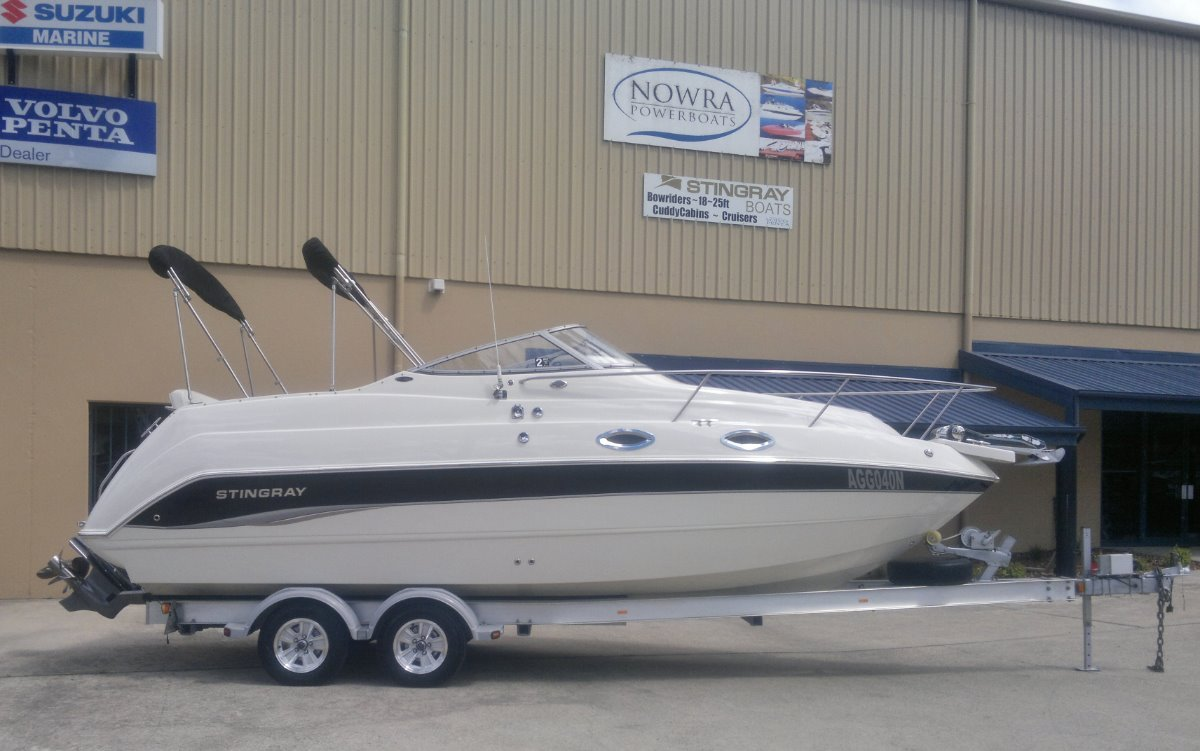 Stingray 240cs Cabin Cruiser