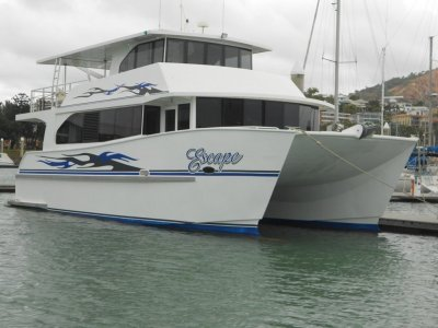 Streamline Custom Luxury Kimberley Cruiser Catamaran