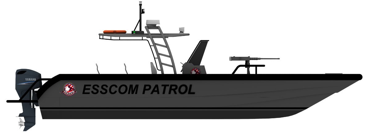 Saltwater Commercial Boats 11.8 Interceptor Patrol Centre Console