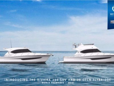 Riviera 39 Flybridge Cruiser and 395 SUV