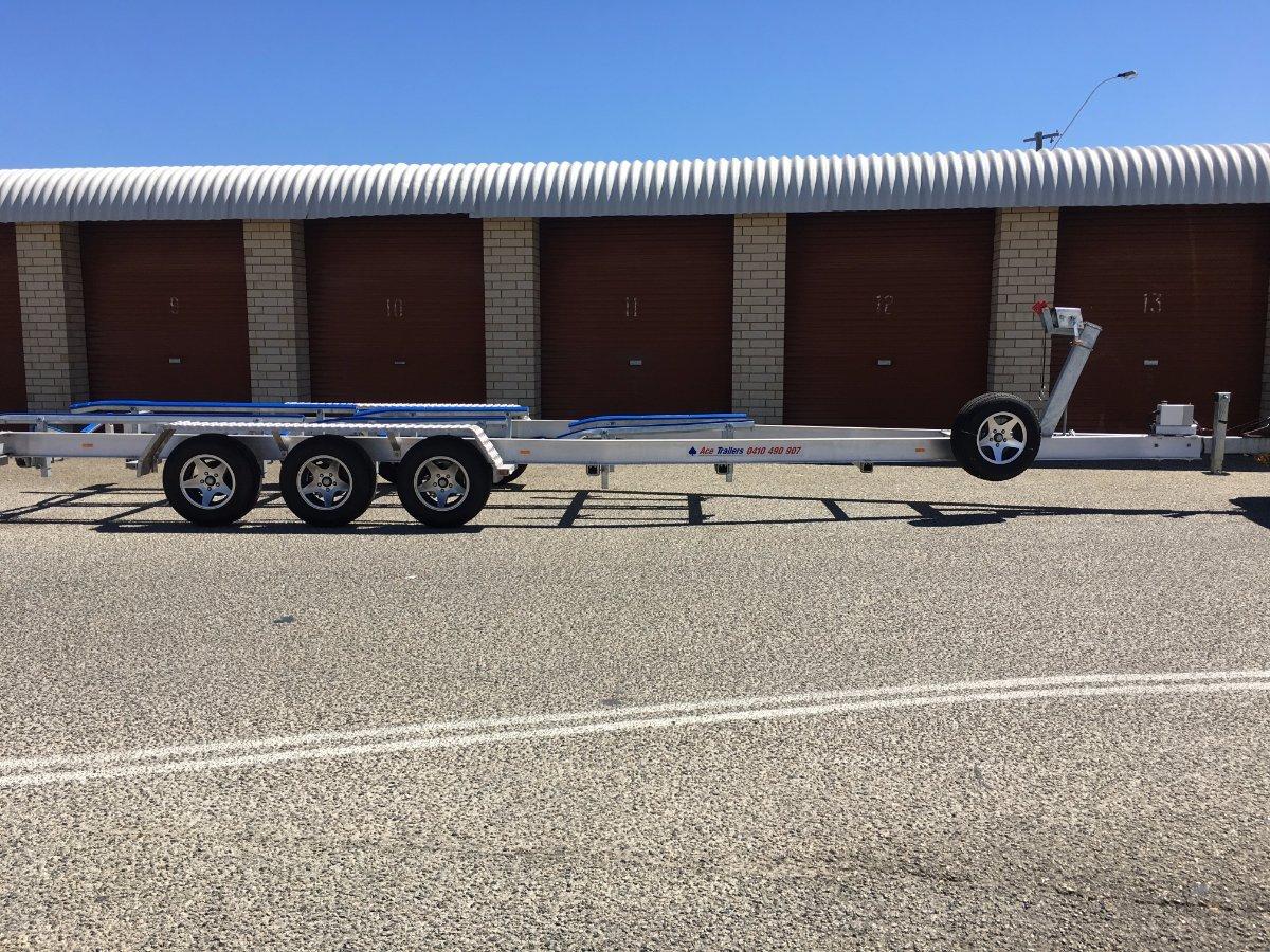 Aluminium Boat Trailer - ATM 4,500kg / TARE 720kg