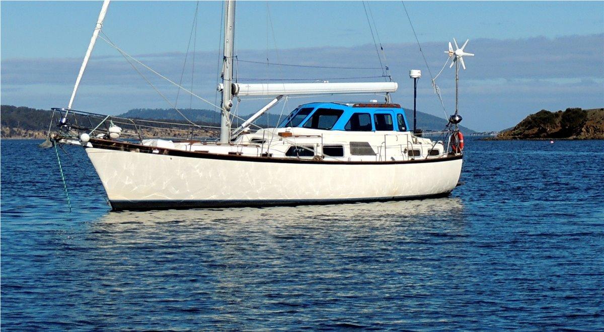Cooper Seabird Motor sailer Pilot-house
