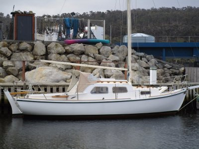 Dick Thompson 25 Cutter Rig Sloop Tassie Designed and Built CRAZY PRICE!!
