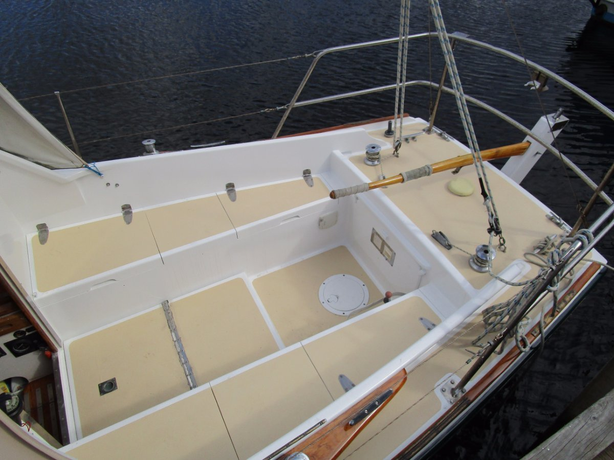 Dick Thompson 25 Cutter Rig Sloop Tassie Designed and Built PRICE REDUCED !!