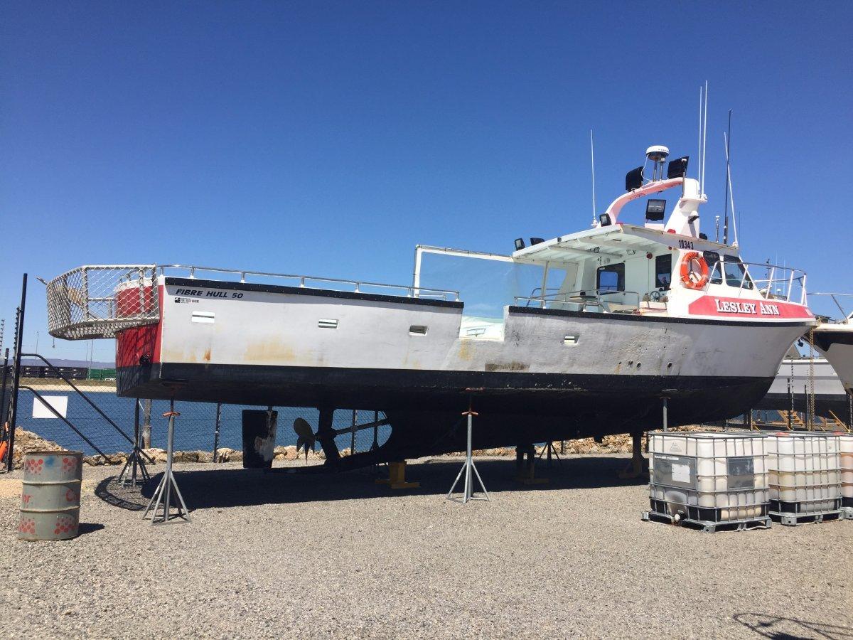 Fibrehulls Cray/Fishing Vessel