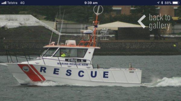 Aluminium Work / Rescue Boat