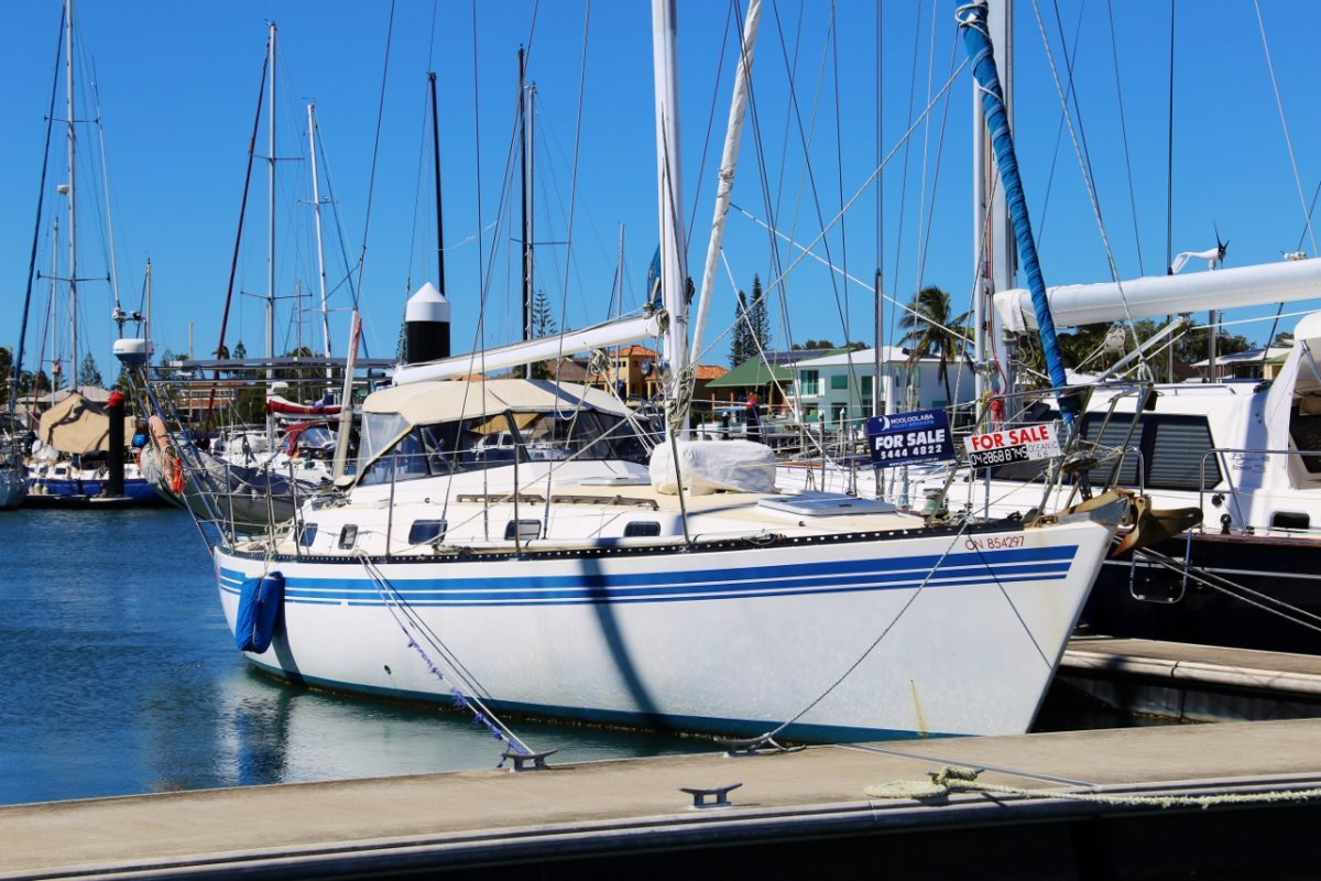 Oceanic 46 17 m berth for sale Mooloolaba