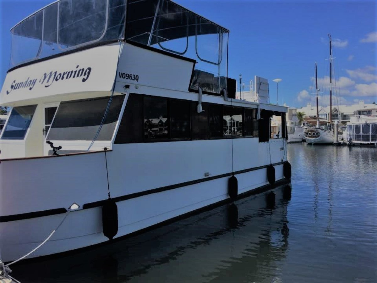"Eagle Catamaran 40 Houseboat ""POWER CAT HOME CRUISER 2012"":2012 Eagle Cat"
