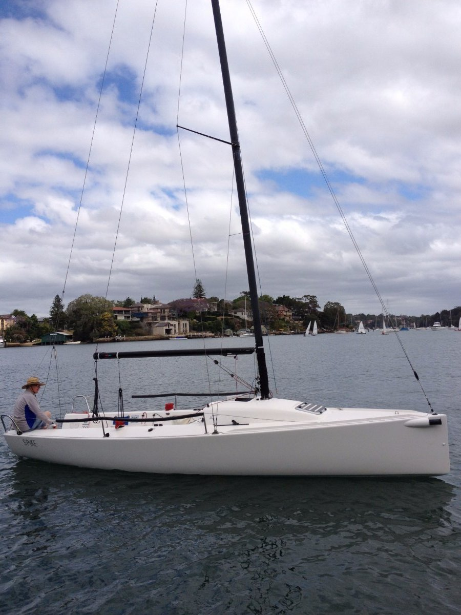 J Boats J/70 one design sportsboat with purpose built trailer:J/70 one-design sportsboat