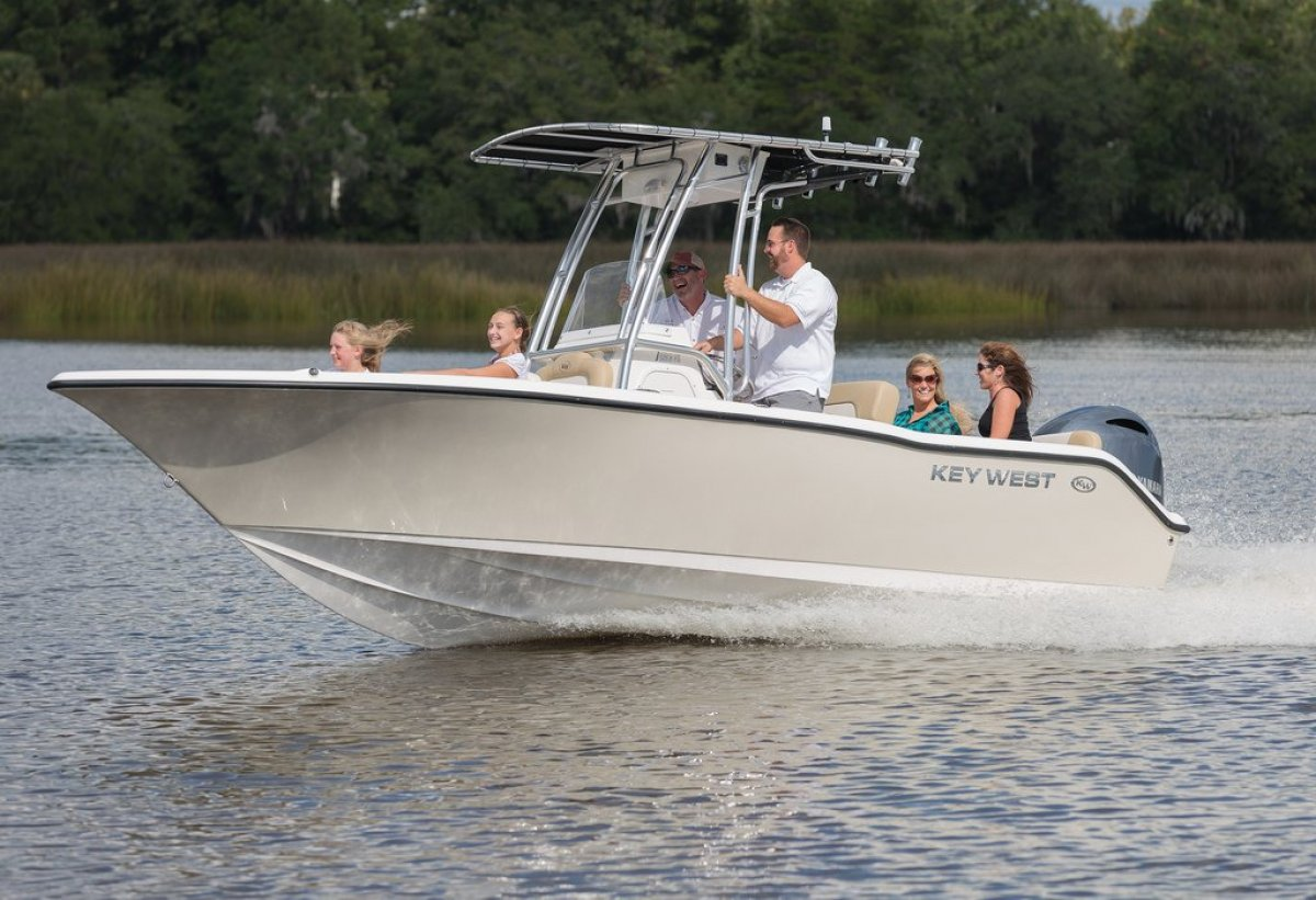 New key west 203fs trailer boats boats online for sale for Key west shore fishing