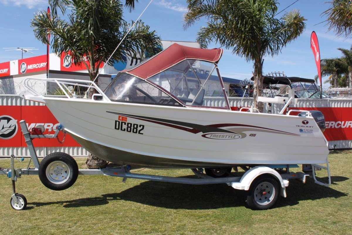 Trailcraft 455 Freestyle runabout