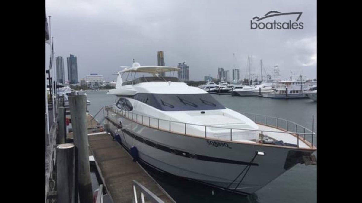 Azimut 78 Flybridge Luxury 80 footer
