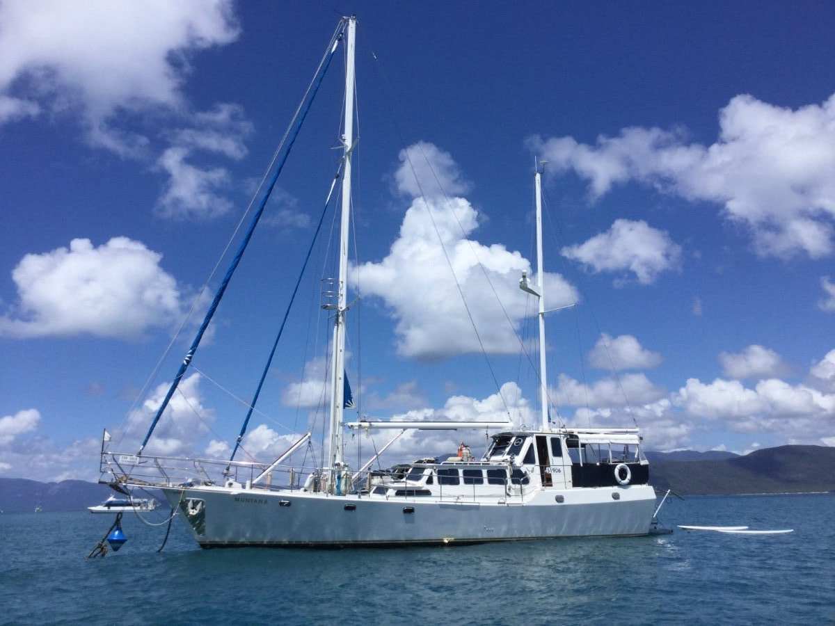 Boden Ketch 18.21 mtrs