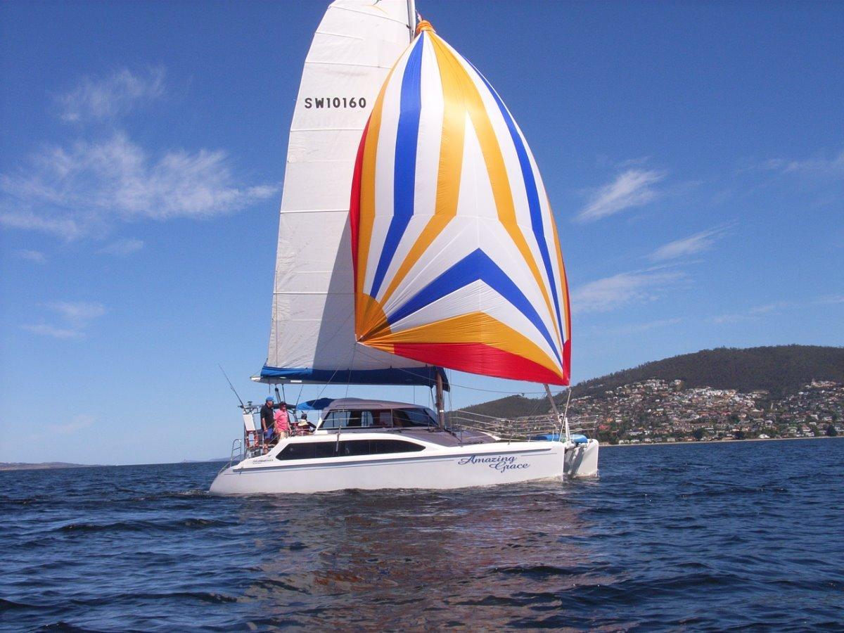 Seawind 1000 2006:On the Derwent River