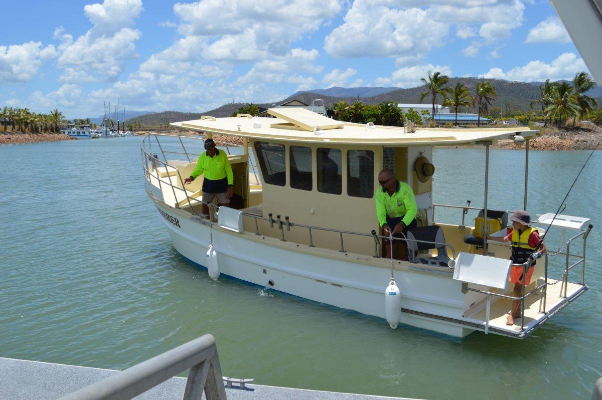 Sharpie Trawler Timber Cruiser:Maiden voyage