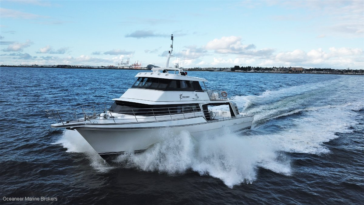 Peter Milner Charter Vessel PRICE REDUCTION
