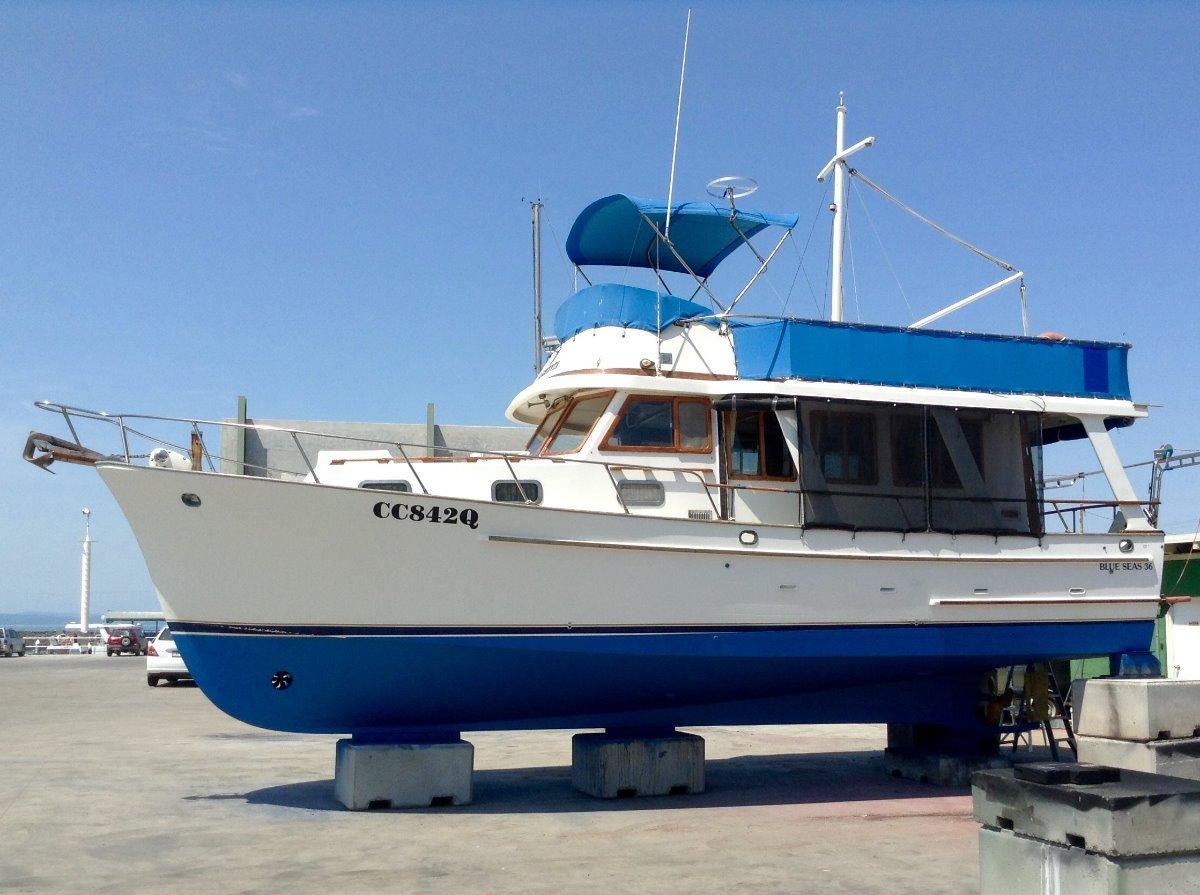 Blue Seas 3700 Motor Yacht