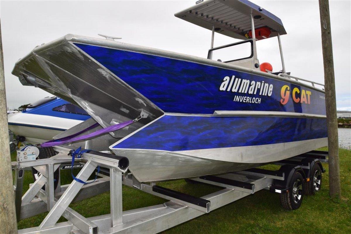 Aluminium Power Catamaran