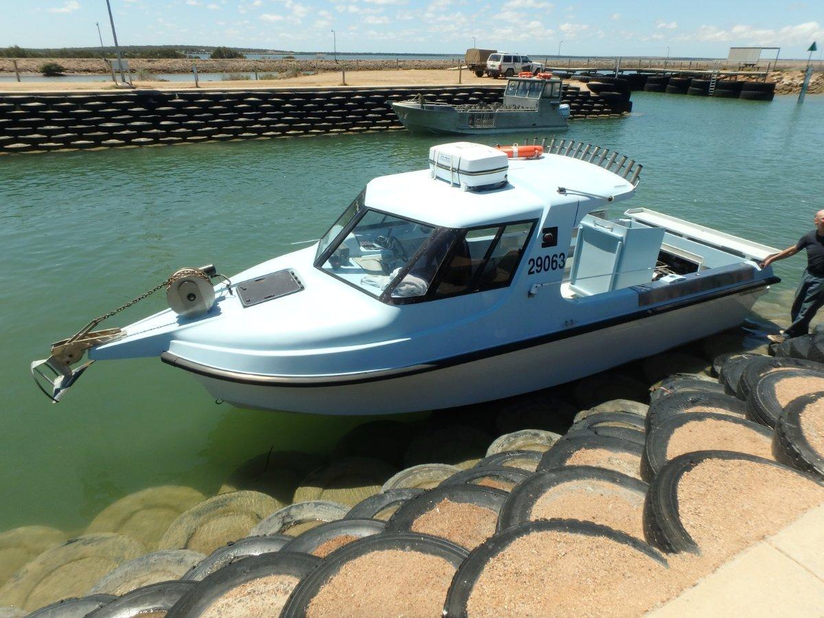 Clayton Marine Gallant 7.4 in 2c survey 6+1