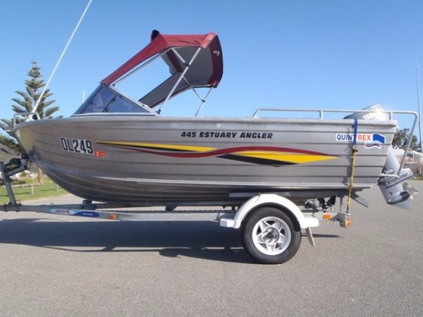Quintrex 445 Estuary Angler RUNABOUT- PRICE REDUCED