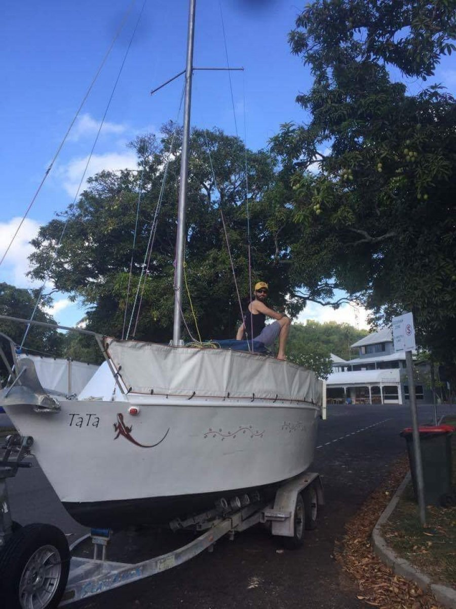 Star Evening Star Easily trailered launched & sailed single handed
