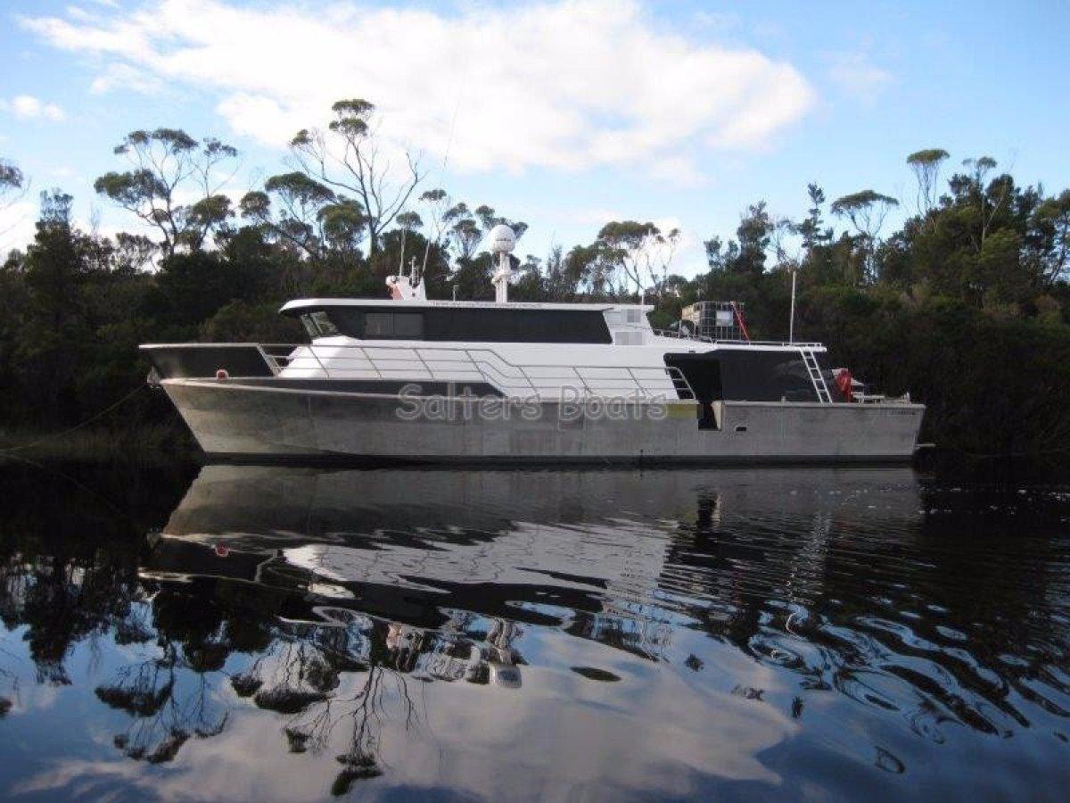 Legend Boats Aluminum Exploration Vessel
