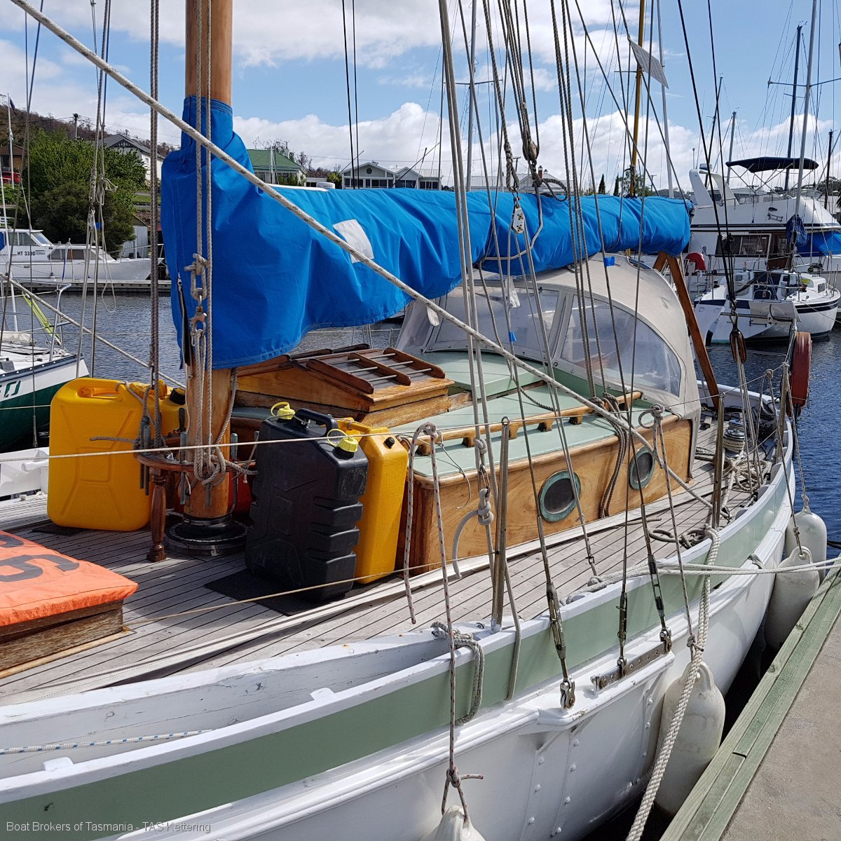 Heather-Belle Lyle Hess Bristol Pilot Cutter Boat Brokers of Tasmania